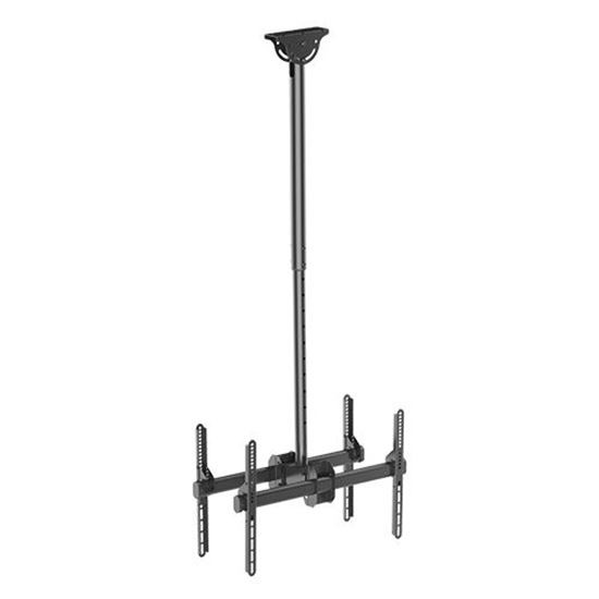 Brateck 37'-75' Dual Ceiling Mount Bracket For TV & Commercial Signage