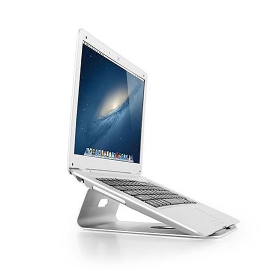 Brateck Laptop Desktop Stand. Aluminium Construction Provides