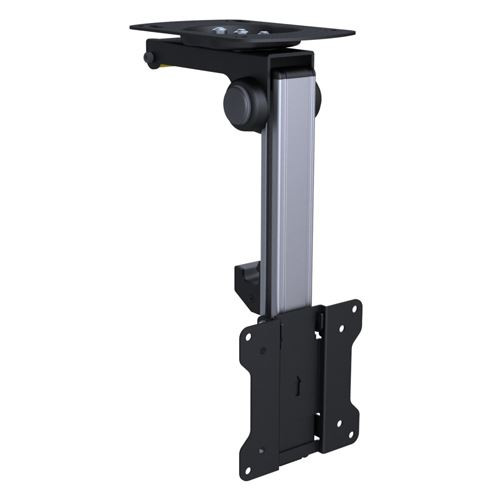 Brateck 13'-27' Folding Monitor Mount For Ceiling Or Under Cabinet