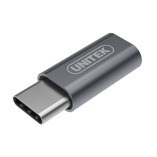 Unitek USB-C Male To Micro-B Female Adaptor. Apple Style