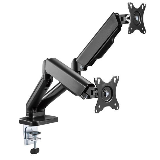 "Brateck Elegant Dual 17""-32"" Counter Balance Monitor Desk Mount"