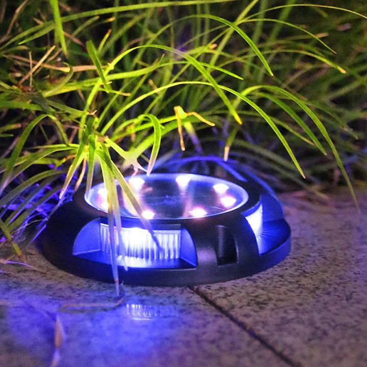 LED Solar Powered Driveway Dock Lights