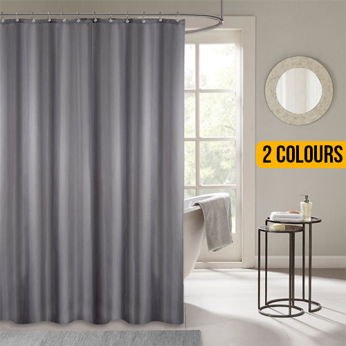 Polyester Fabric Shower Curtain