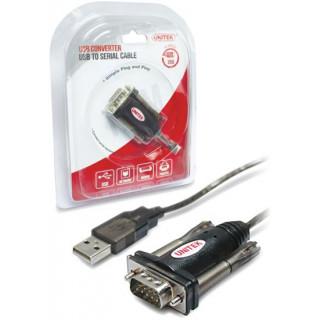 Unitek 1.5m USB-A To Serial DB9 RS232 Cable