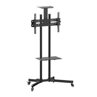 Brateck 32'-70' Economy TV Stand, Adjustable TV Height With Glass