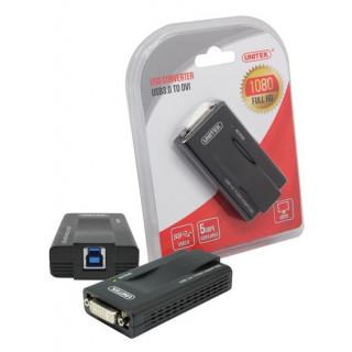 Unitek USB-A 3.0 To DVI And VGA Converter