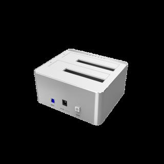 Unitek USB3.0 To Dual SATA HDD Aluminium Docking Station With