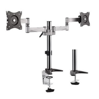 Brateck 13'-27' Dual Monitor Desk Mount