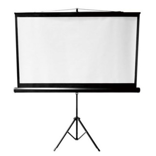 Brateck 96' Projector Screen With Tripod. Perfect For Education