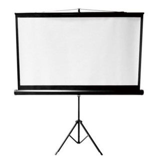 Brateck 100' Projector Screen With Tripod. 4:3 Aspect Ratio