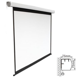 Brateck 135' Electric Projector Screen With Remote