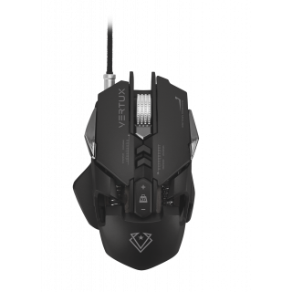 Vertux Gaming Optimized Precision Wired Mouse With 8 Programmable