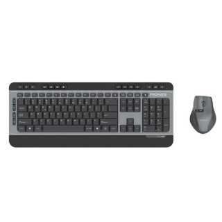 Promate Sleek Wireless Multimedia Keyboard & Mouse Combo
