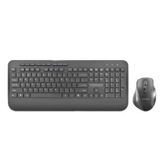 Promate Wireless Keyboard & Contoured Mouse
