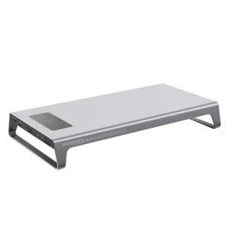 Promate 11-In-1 Aluminium Ergonomic Desk Hub