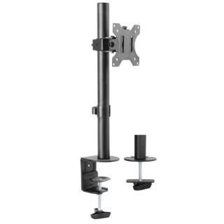 Brateck 13'-32' Single Monitor Desk Mount Rotate, Tilt Swivel. Supports