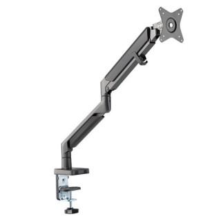 Brateck 17'-32' Polished Aluminium Premium Gas-Spring Desk Mount