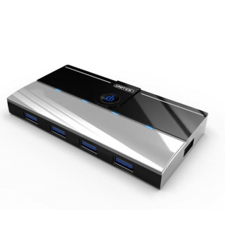 Unitek USB 3.0 4-Port Hub Plus 1x 2.1A Device Charging Port