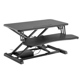 Brateck Electric Scissor Lift Desktop Sit-Stand Workstation