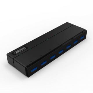 Unitek USB 3.0 7-Port Hub With 1.5A Charging Per Port. Super Speed