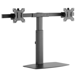Brateck 17'-27' Dual Screen Vertical Lift Monitor Stand. Easy