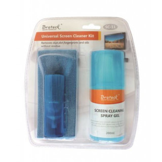 Brateck Screen Cleaner Kit. 200ml Spray Bottle Perfect For