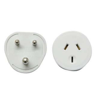 Jackson Outbound Travel Adapter. Converts NZ/AUS Plugs For Use In