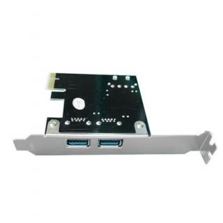 Unitek PCI-E USB 3.0, 2x Port Card Supplied With Low Profile &