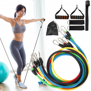 Fitness Pull Rope Latex Resistance Bands Body Fitness Equipment