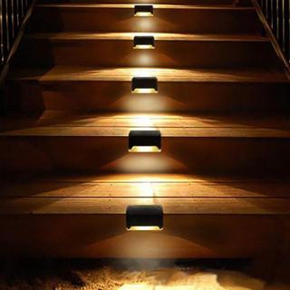 Step Railing Solar Lighting