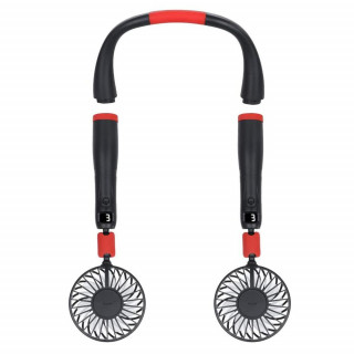 2-in-1 Portable Handheld and Hanging Neck Fan