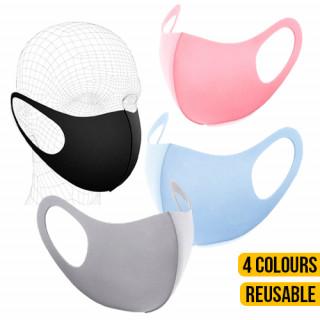 Adult Reusable Fabric Face Masks
