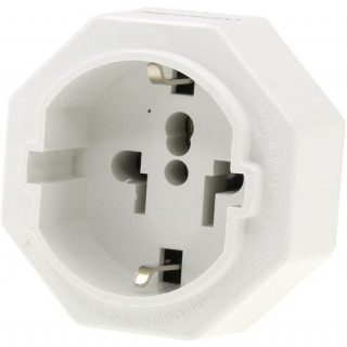 Jackson 1x Outlet Travel Adaptor. Converts US, USA/Asian Plugs For