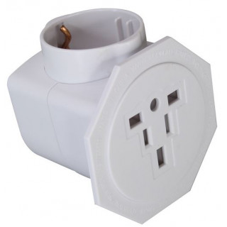 Jackson Inbound Travel Adaptor With Surge Protection. Converts US