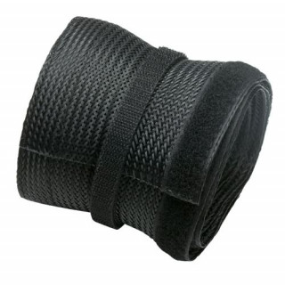 Brateck Flexible Polyester Cable Sock. Elastic To Fit Most Cable