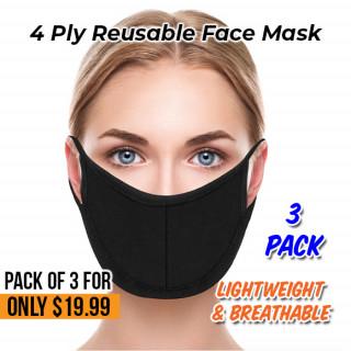 4 PLY Reusable Face Mask