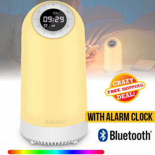Bedside Night Light Bluetooth Speaker