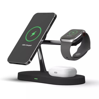3-in-1 15W Wireless Magnetic Charger