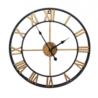 Giant Vintage-Style Wall Clock