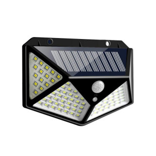 Four-Sided Solar Power Wall Lights