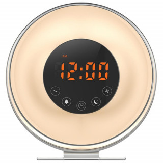 New Touch Wake-up Alarm Clock Touch Simulation Digital Clock