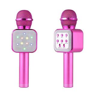 5 in 1 Handheld Karaoke Microphone with LED Lights