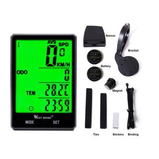 Wireless Bicycle Speedometer Odometer