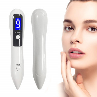 Rechargeable Spotlight Mole Freckle and Spot Scanner and Remover Pen