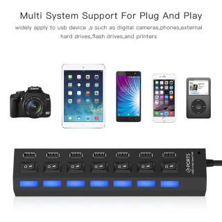 7-Port Universal USB Charging Stations