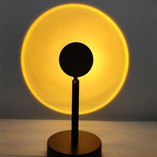 LED Sunset Sunlight and Rainbow Night Light Projector Lamp