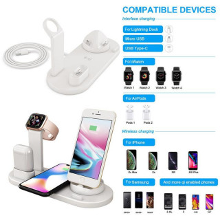 4 in 1 Rotatable Charging Dock