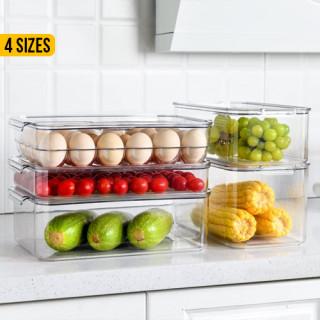 Fridge Plastic Food Storage Container With Lid