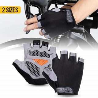 Half Finger Foam Pad Cycling Gym Gloves