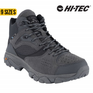 Hi-Tec Nouveau Traction Mid WP Charcoal/Black